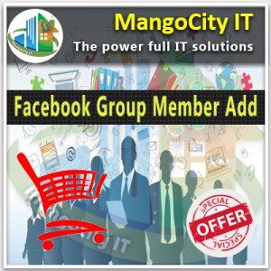 Buy Facebook Group Member Add